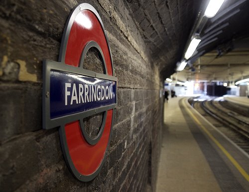 Farringdon tube to Office Space in Farringdon