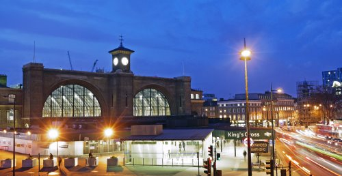 Kings-Cross station leading to space for rent in London