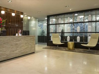 Dover Street West End London serviced offices reception