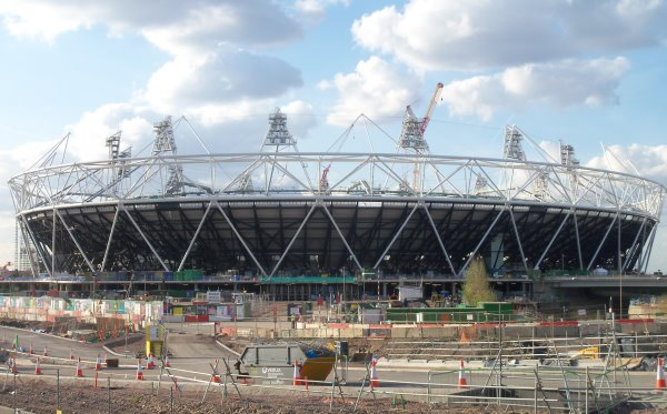 Olympic-Stadium turned Office Space in Hackney