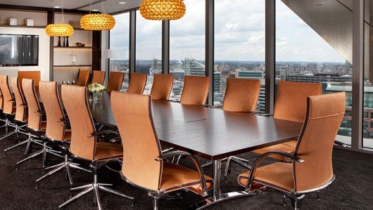 Designer Serviced Office Space Heron Tower