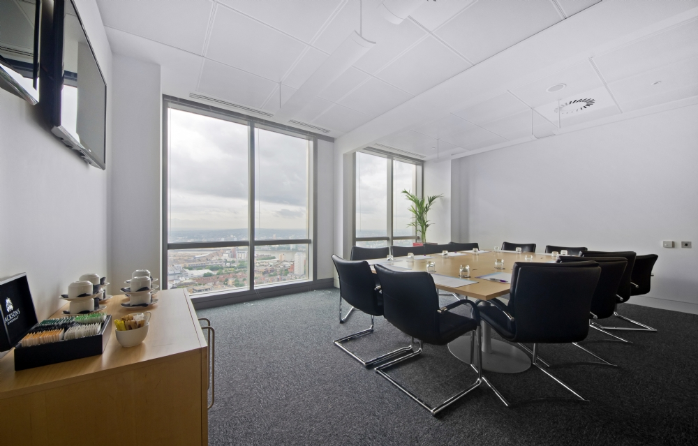 Serviced offices, Canary Wharf (i2 Office)