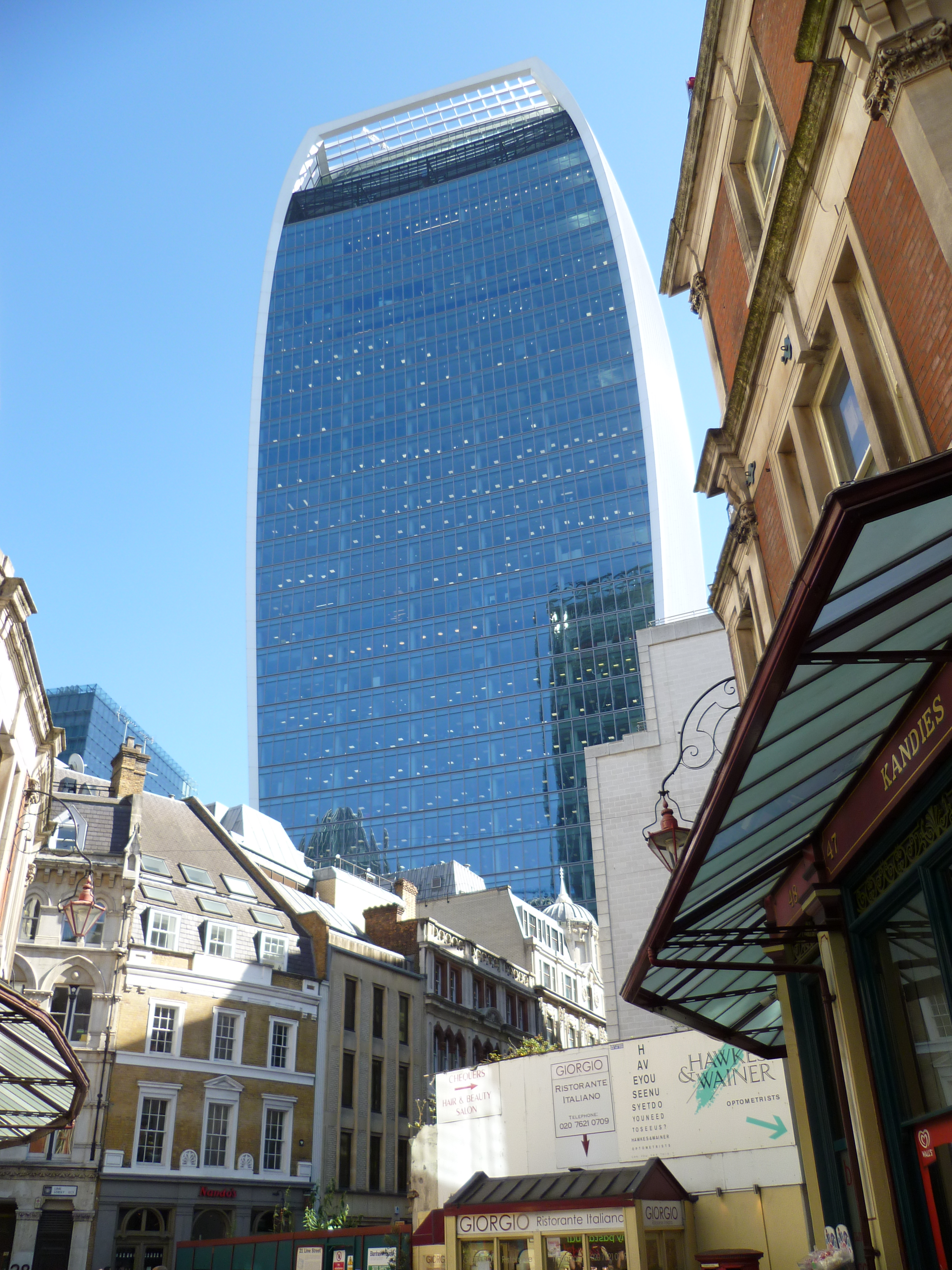 20 Fenchurch Central London office space