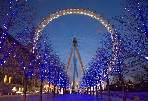 Christmas London Eye winter events