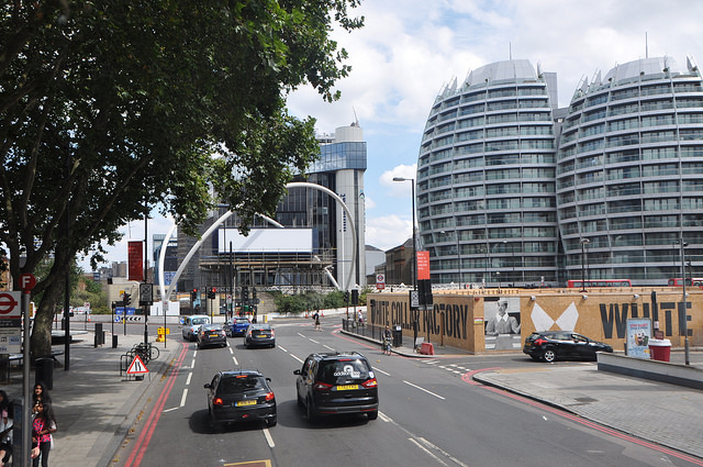 Old Street roundabout London office space to rent