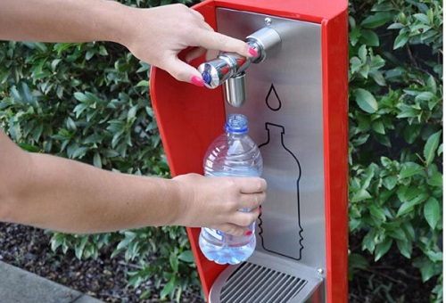 Bottle Refill Stations and Water Fountains