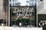 WeWork Old Street Exterior Motivational Quotes