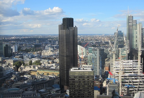 Tower 42 Birds Eye